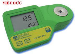 Máy đo độ ngọt (Brix) nhiệt độ hiển thị số