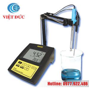 Máy đo PH nhiệt độ để bàn hiện số