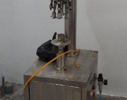 Máy ghép nắp chai thủy tinh